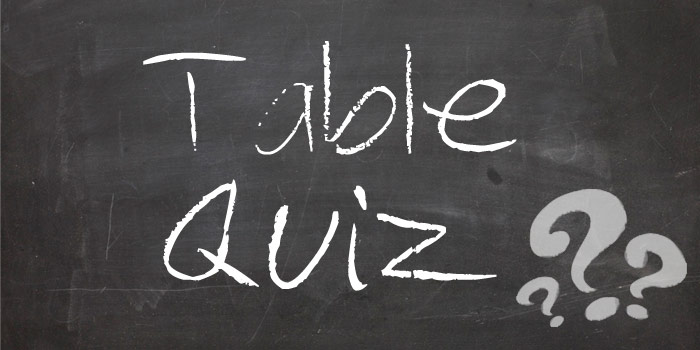 table-quiz