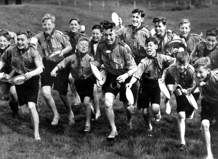 Troop Summer Camp – Blair Atholl, Scotland, 1952