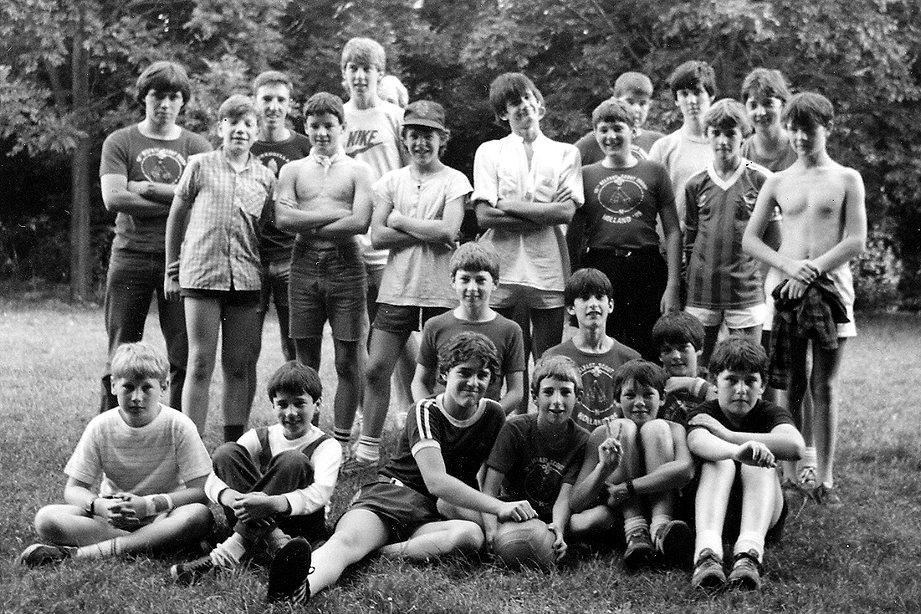 Troop Summer Camp Holland, 1985