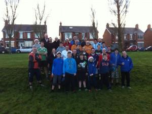 Christmas Morning Football 2012