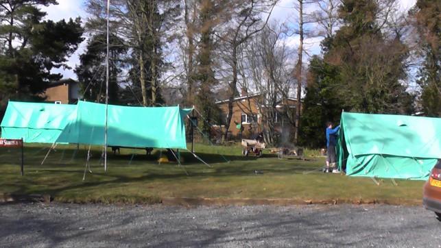 Campsite Easter13